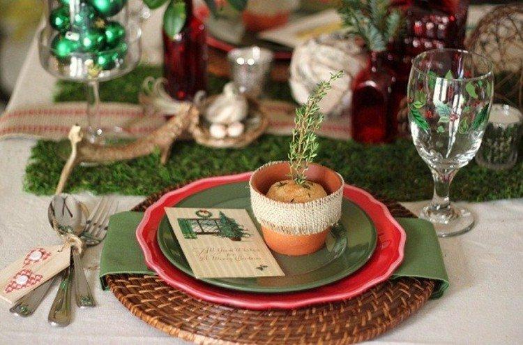 navidad decoracion cristales copas vajilla