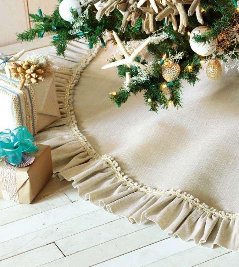 navidad nautica ideas estilo cintas cajas
