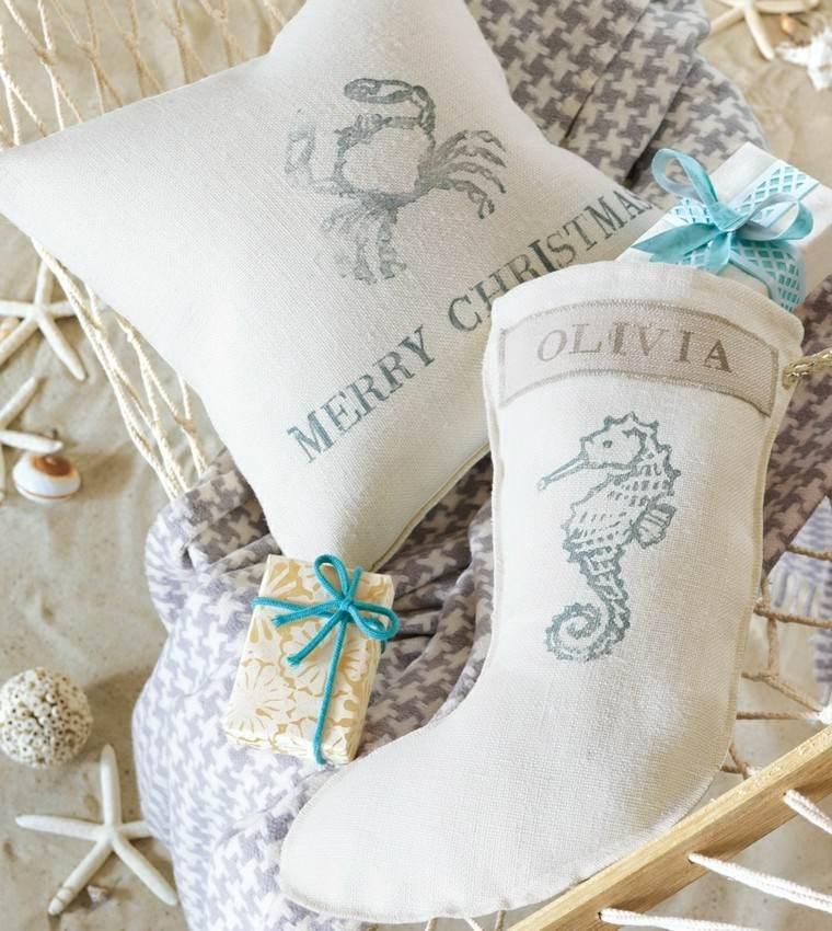 navidad nautica ideas estilo estrellas mar accesorios