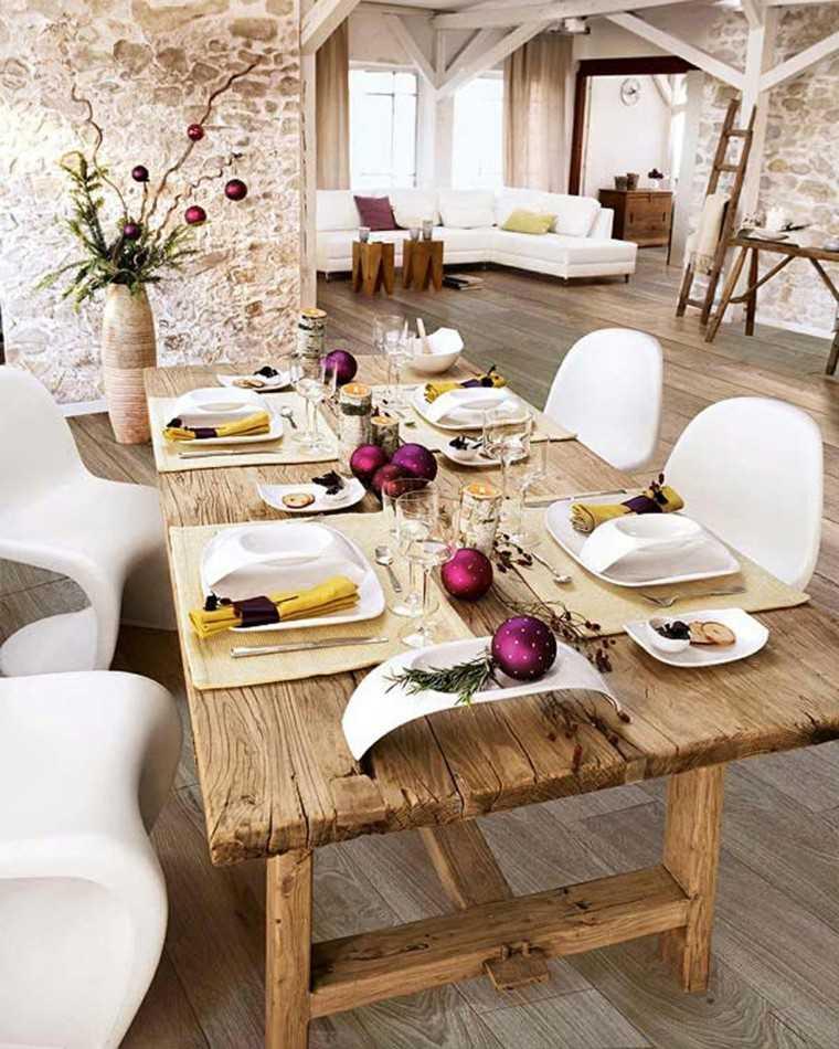 original decoración mesa moderna
