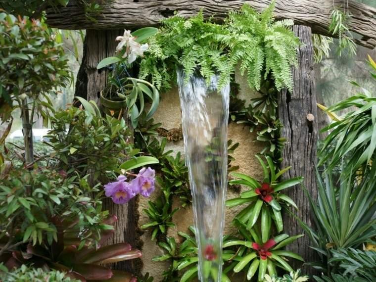 origijal design waterfall small garden