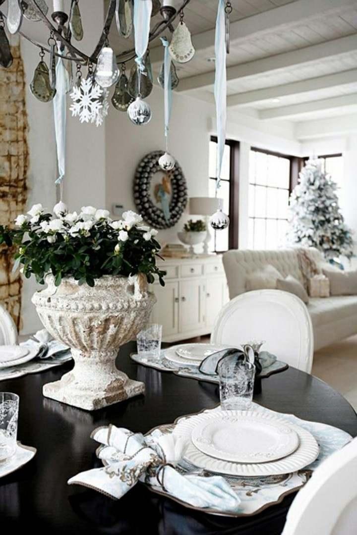 original decoración blanca navidad