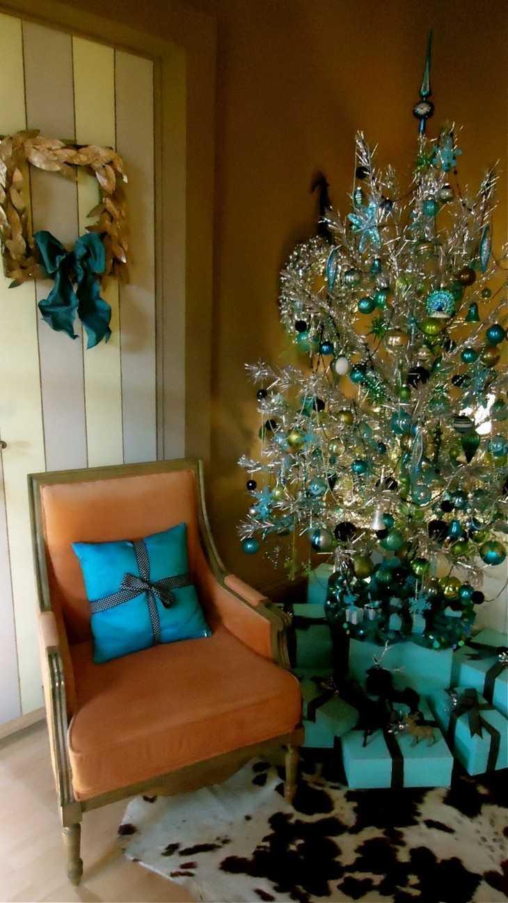 original deco navidad color azul
