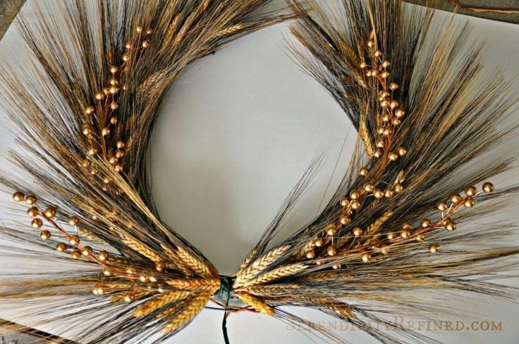 original corona deco ramo cereales