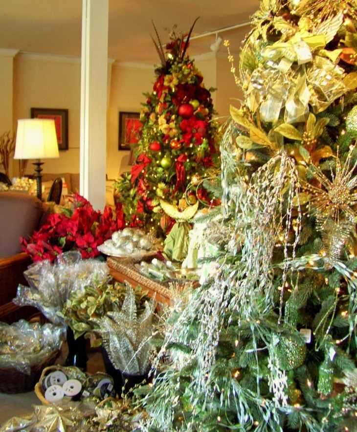 original decoración arboles navidad