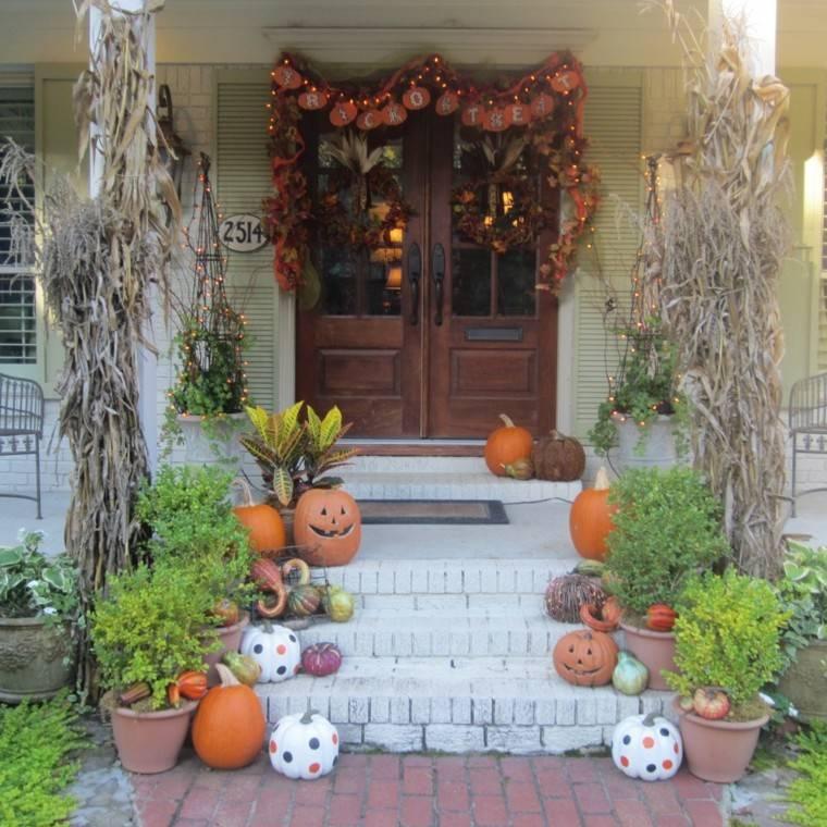 original decoracion entrada puerta
