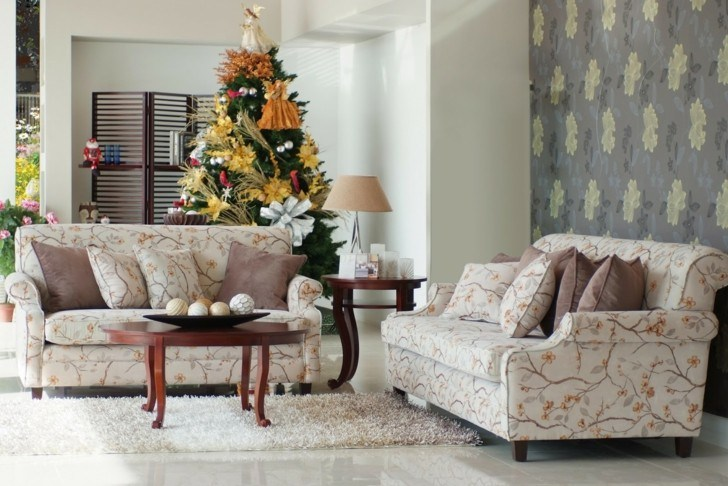 Como decorar un salon para la navidad 50 ideas - Como decorar tu salon ...