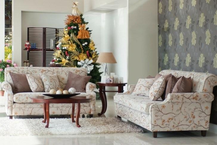 Como decorar un salon para la navidad 50 ideas - Decorar mi salon ...