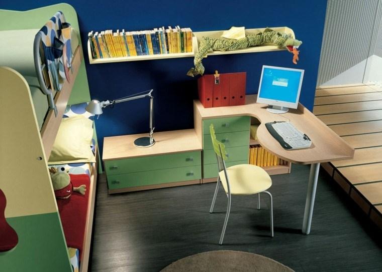 original diseo escritorio juvenil moderno
