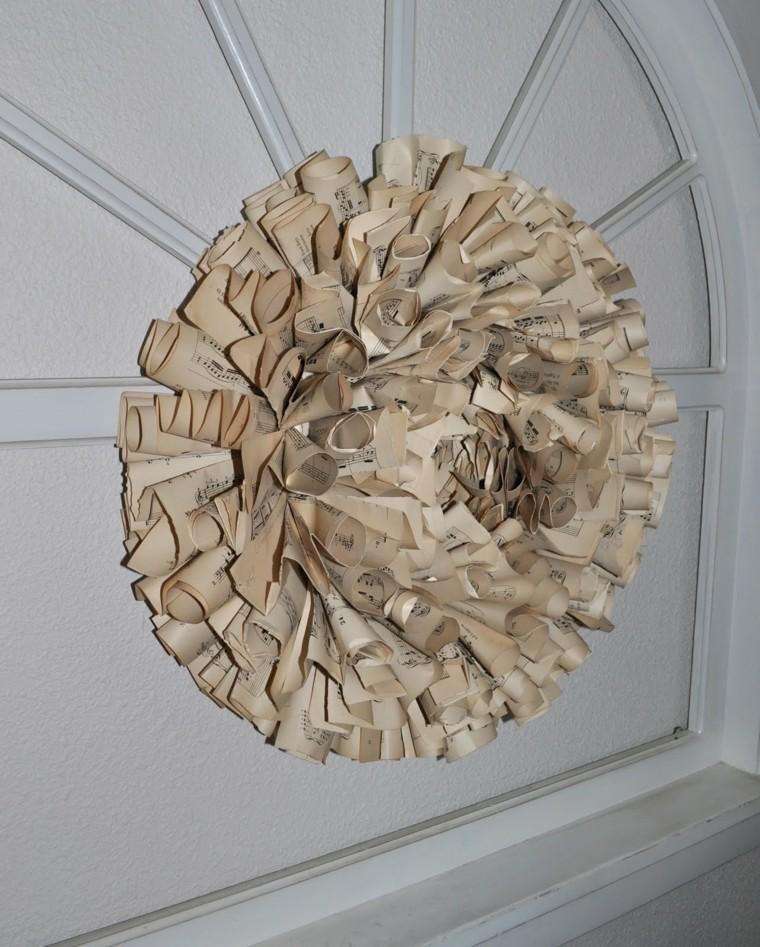 original diseño corona puerta