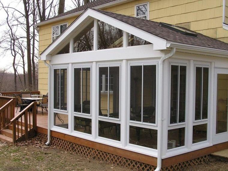 original diseño terraza cubierta jardín
