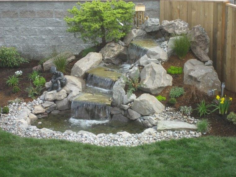 original diseño cascada jardín