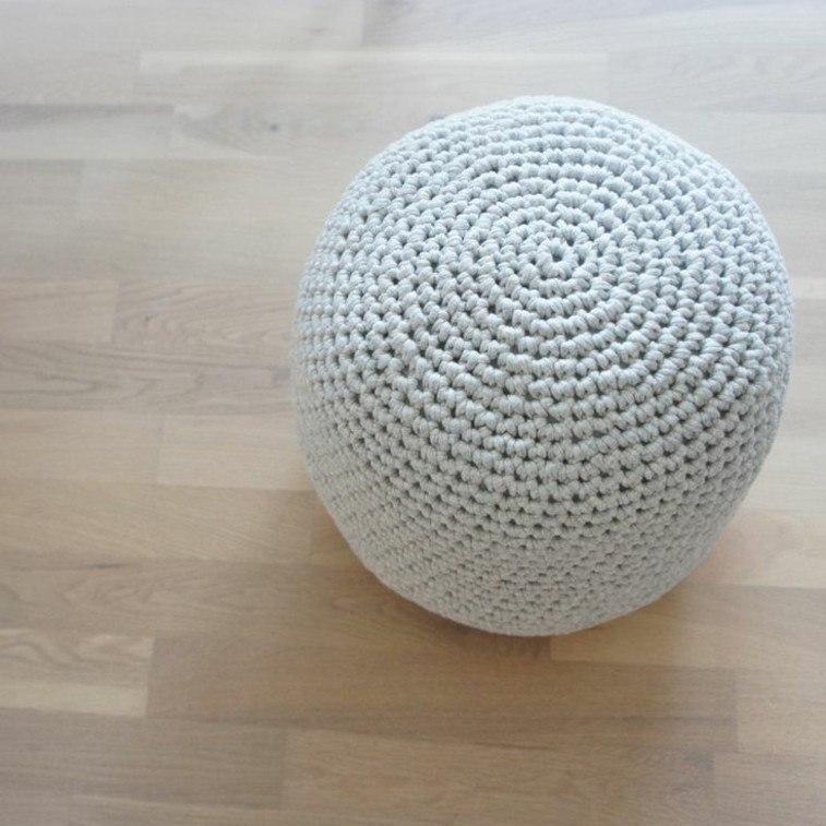 original puff crochet color blanco