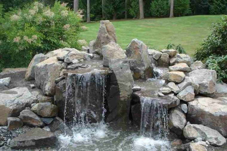 original cascada rocalla jardin deco