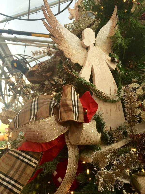 originales adornos navideños angeles madera