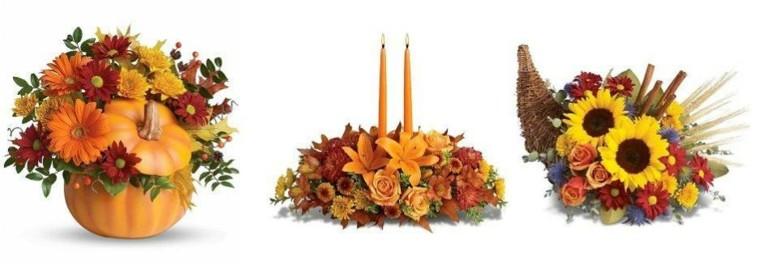 originales centros mesa de flores