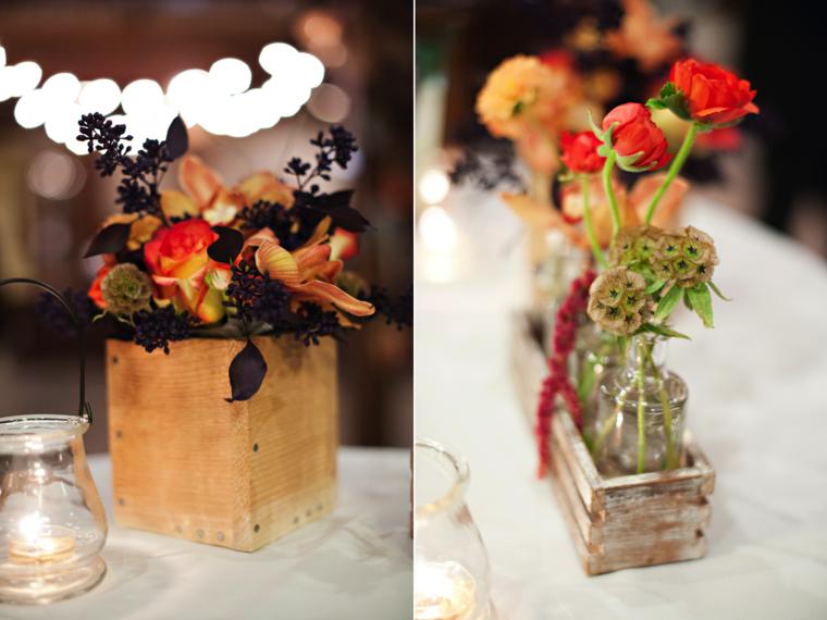 originales centros mesa deco flores