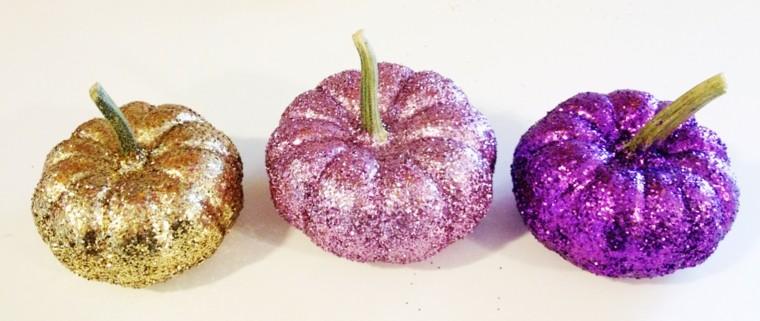 originales diseños colores otoño purpurina