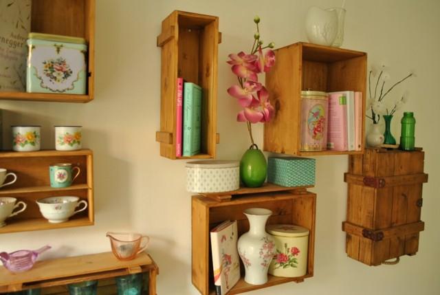 Decorar cajas de madera de vinos y amueblar con ellas - Cajas de vino para decorar ...