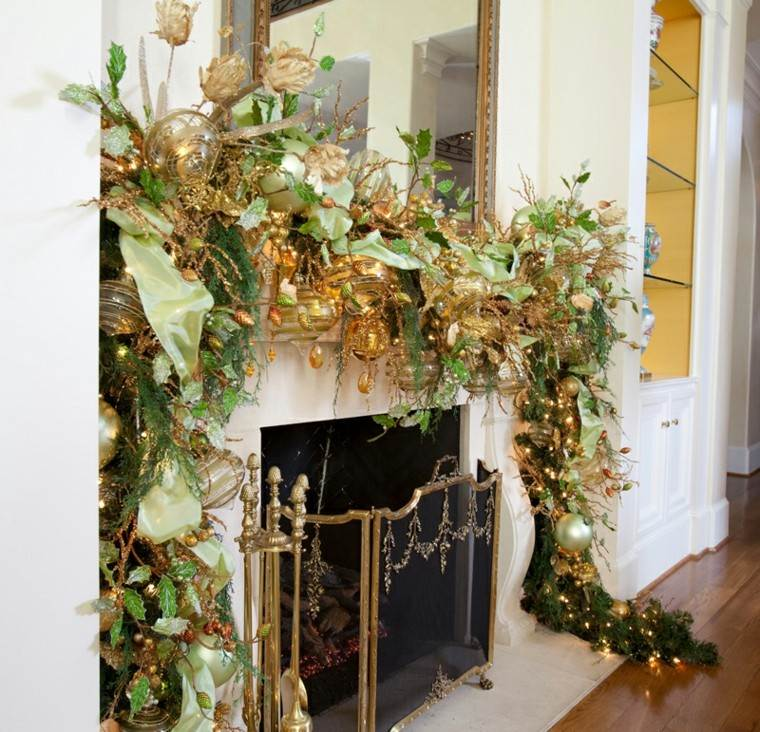 originales guirnaldas de navidad lujosas