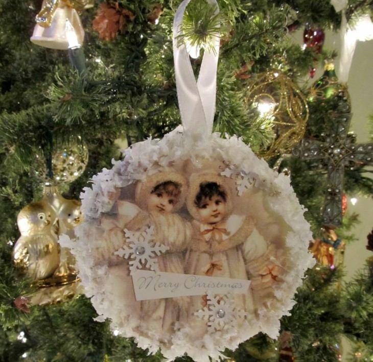 originales adornos retro rboles de navidad