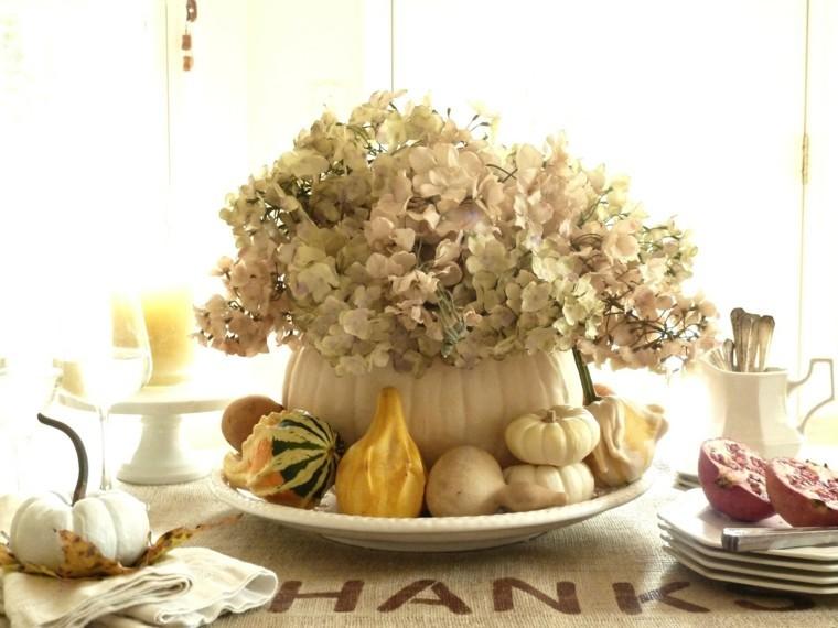 otoño celebracion fiesta blanco calabazas