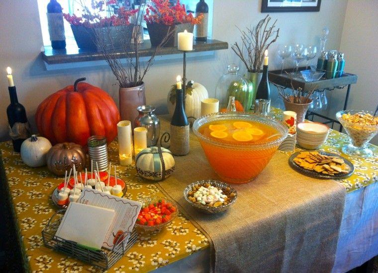 otoño celebracion fiesta detalles variadas