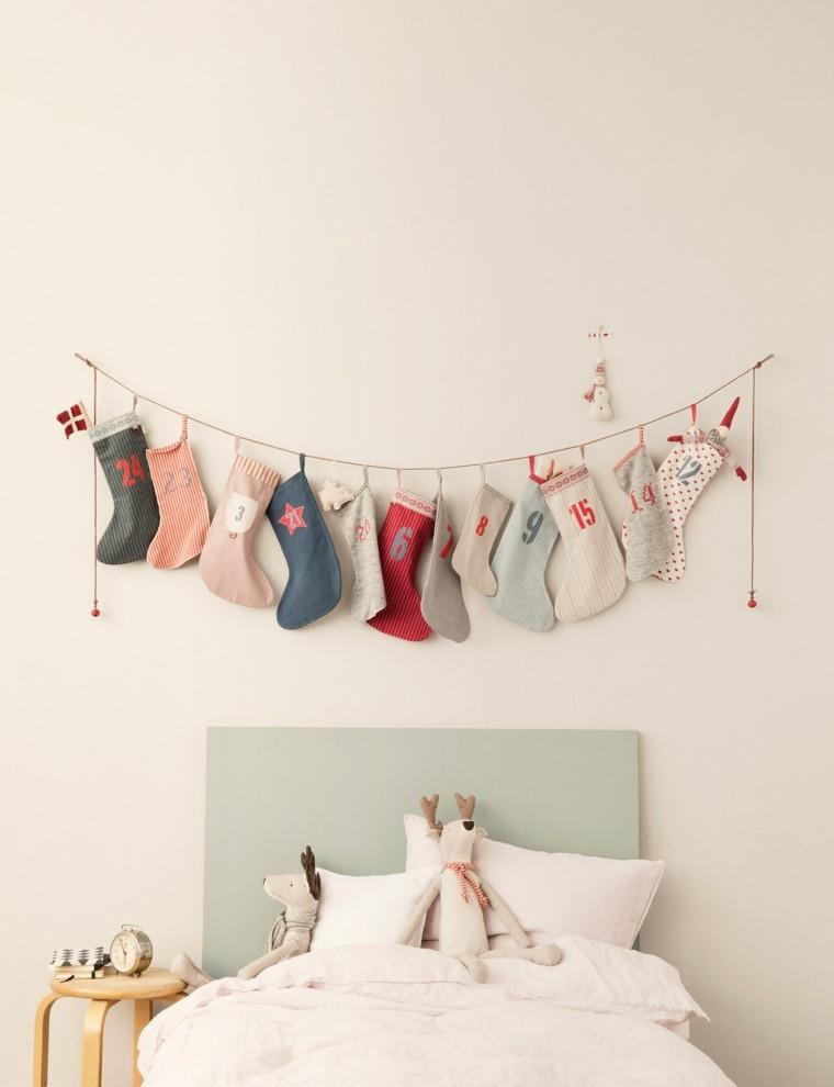 paredes decoracion sillas reno cama