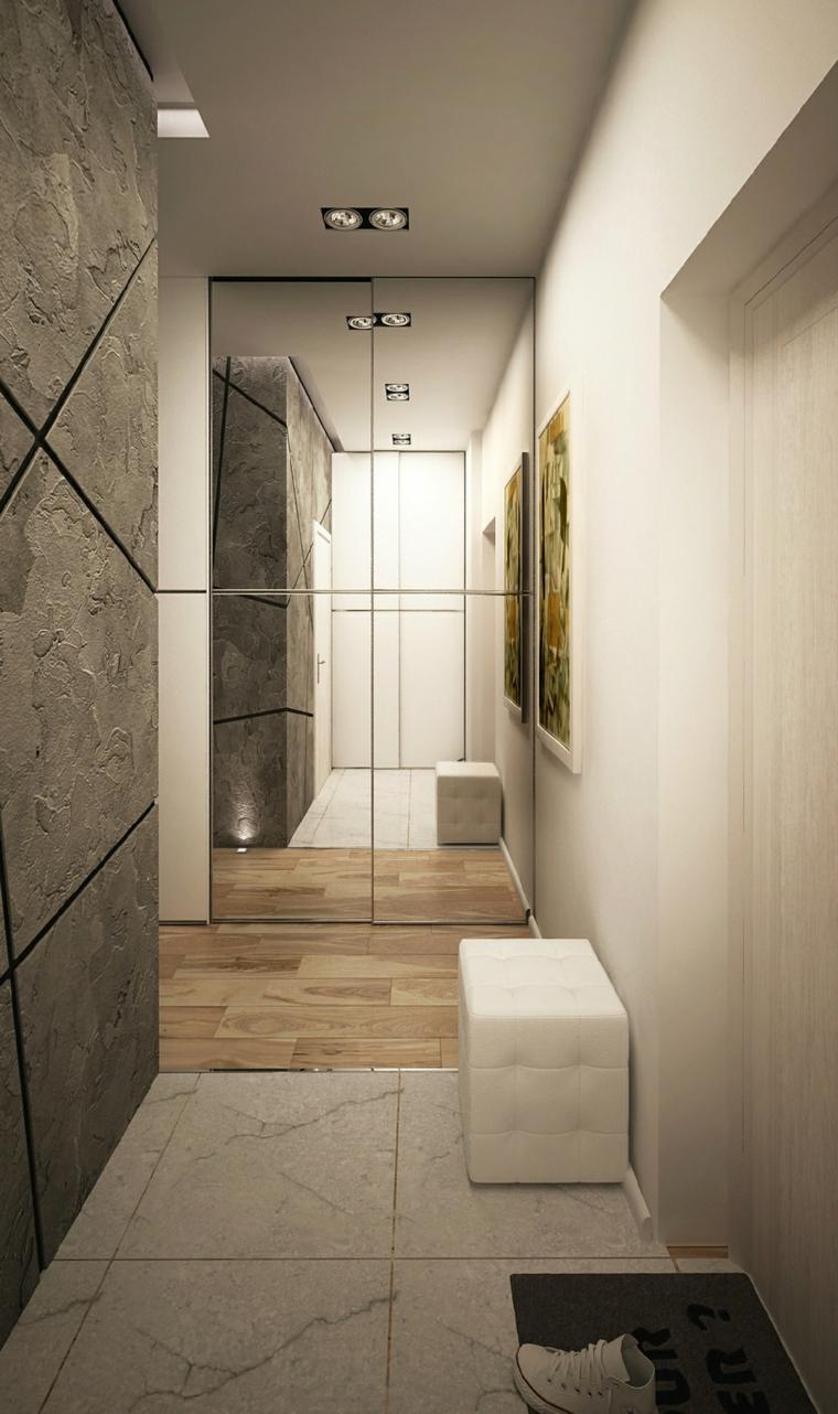paredes decorado cuadro stilo textura led