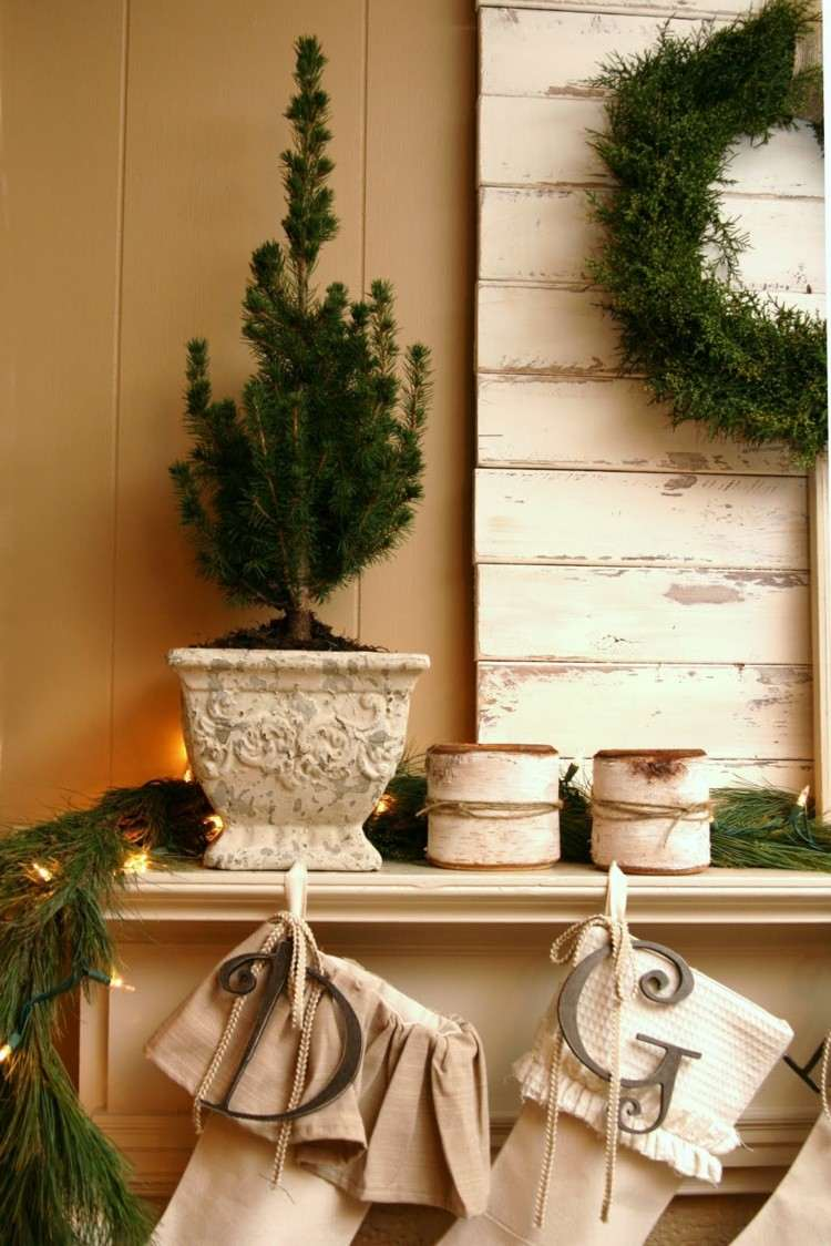 paredes diseño decoracion navideña calido