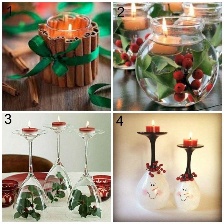 partavelas manualidades preciosas velas romanticas vasos vino ideas