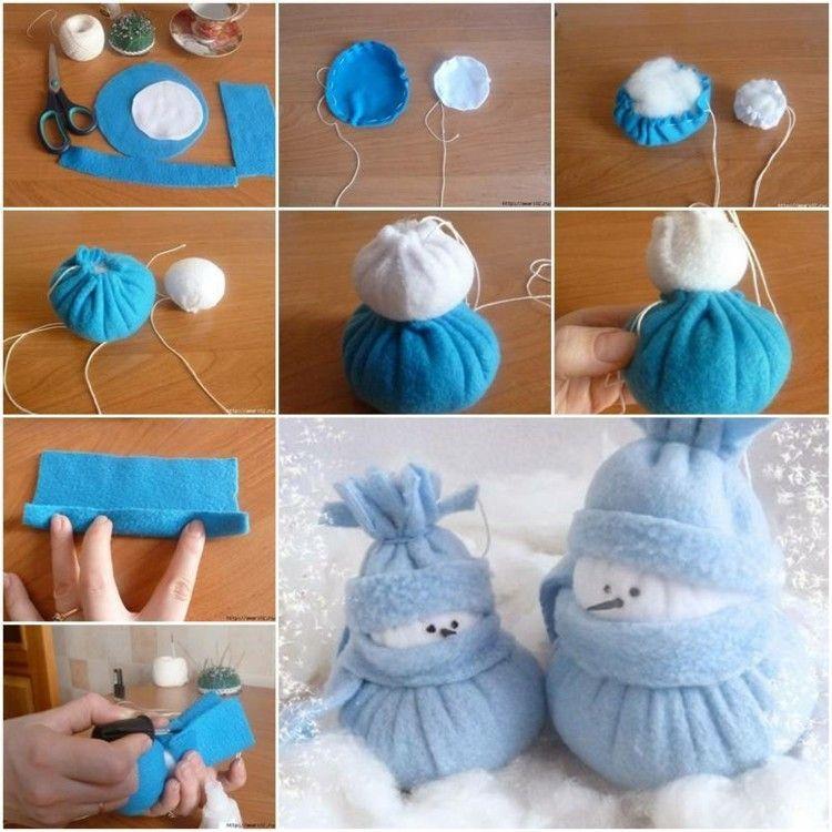 pasos ideas decorado navidad azul