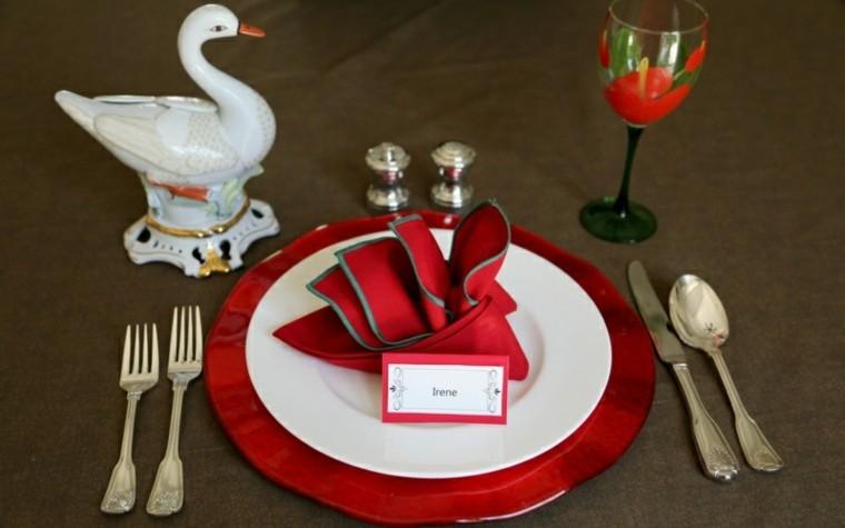 pato decoracion blanco comidas formas