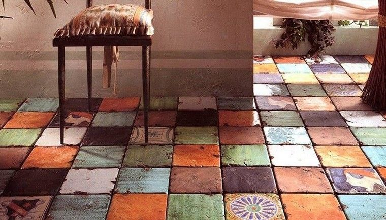 patrones patchwork baldosas originales ceramica colores interesantes ideas