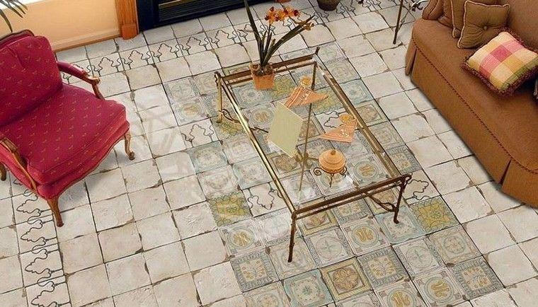 patrones patchwork baldosas originales combinacion rustico mediterraneo ideas