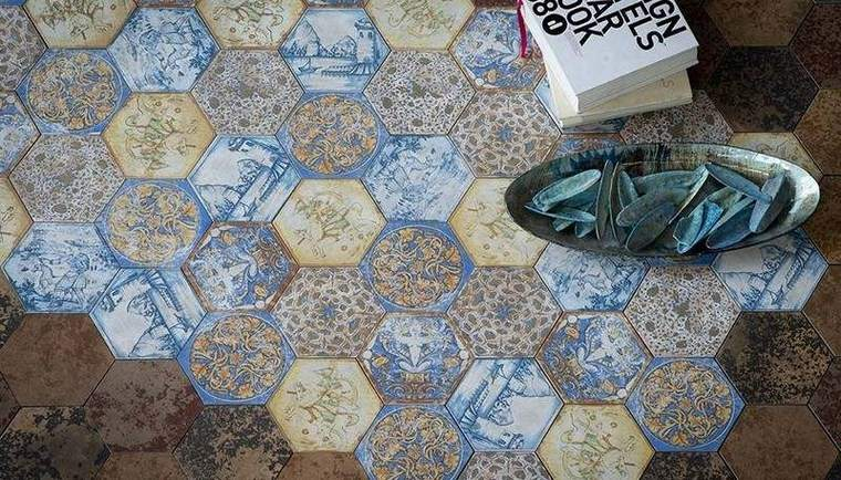 Patrones patchwork 35 ideas para las baldosas de casa - Patrones casas patchwork ...