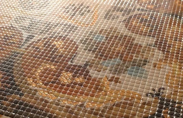 patron patchwork baldosas originales mosaico precioso suelo ideas
