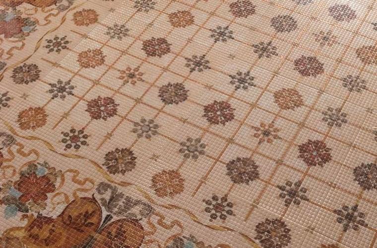 patron patchwork baldosas originales mozaico bonito ideas
