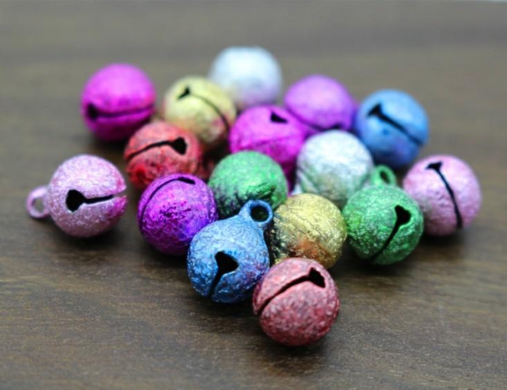 pequeños cascabeles navidad colores