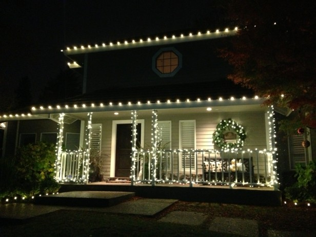 Decorar El Balcon En Navidad.Decorar Terrazas Y Balcones En Navidad 25 Ideas