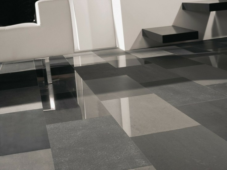 Azulejos grises para suelos y paredes 50 modelos - Suelos de gres catalogo ...