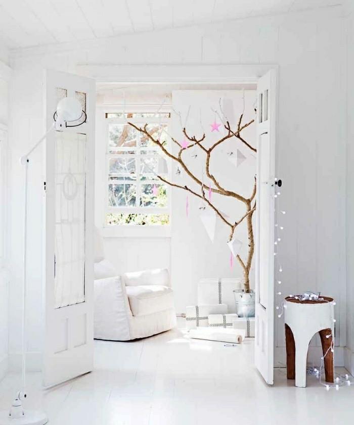 diseño salon blanco estilo nordico
