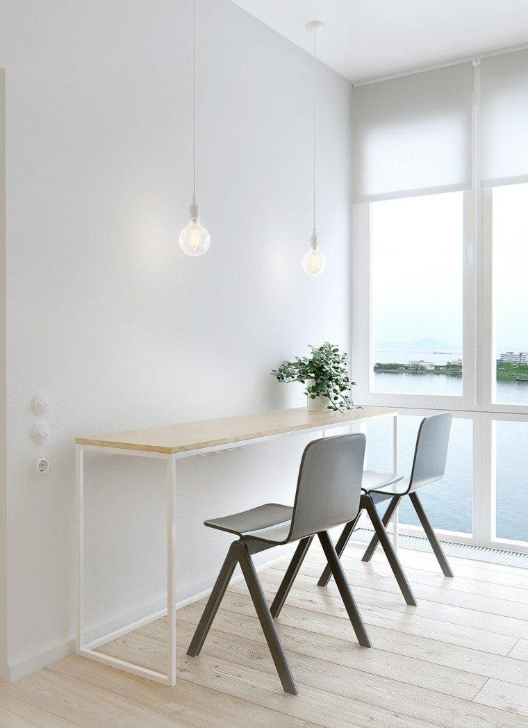 sillas diseño ideas paredes plantas