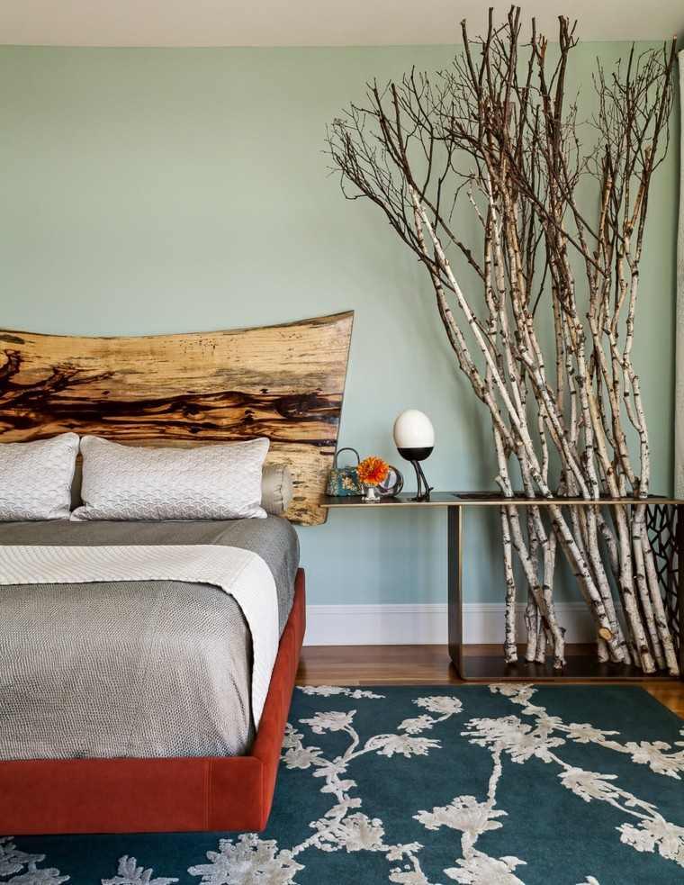 suelo cama decoracion almohadas flor