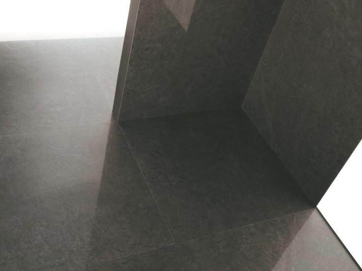 suelo liso paredes color gris