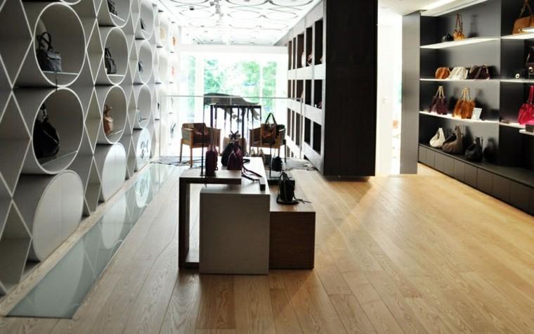 suelos de madera interiores forja vestidor zapatos
