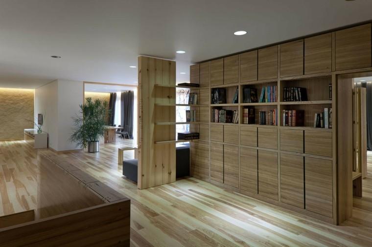 suelos de madera interiores plantas detalles