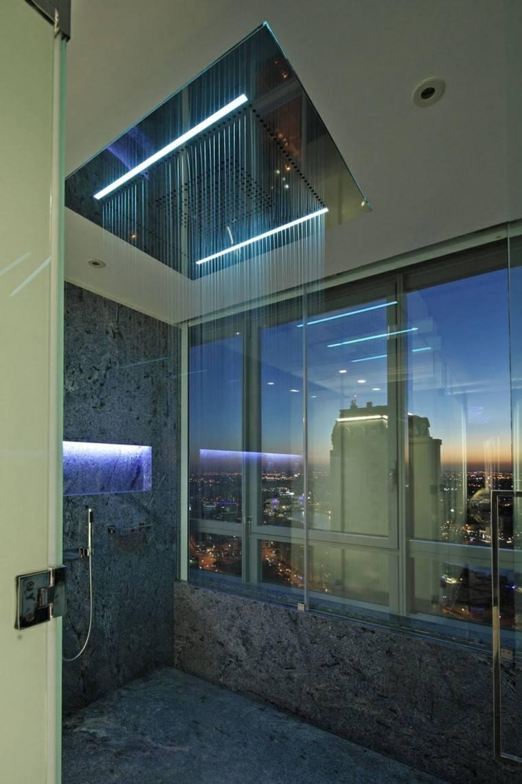 techo elegante estetica ciudad led