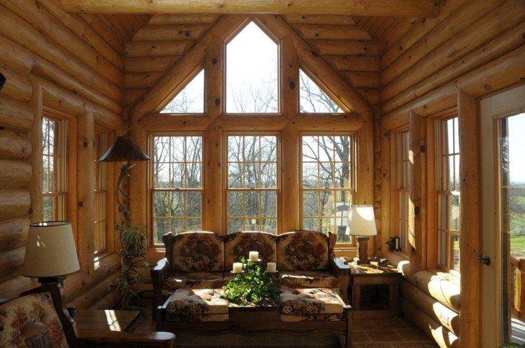 terraza cubierta madera pino natural