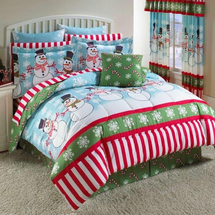 textiles estilo navidad ideas alfombra